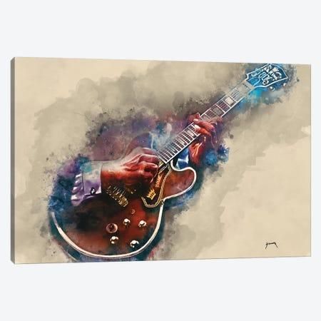 B.B. King's Guitar II Canvas Print #PCP5} by Pop Cult Posters Art Print