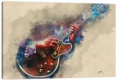 B.B. King's Guitar II Canvas Art Print