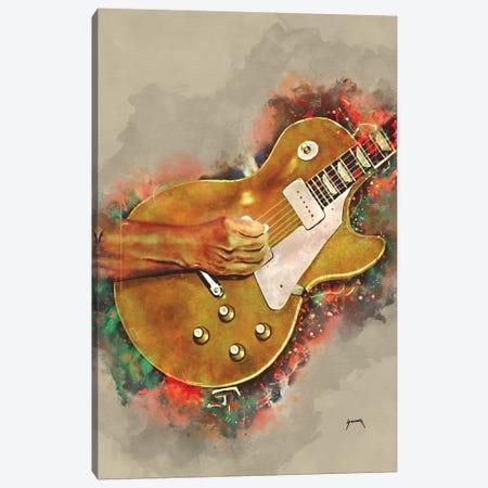 John Fogerty's Guitar 2 Canvas Print #PCP63} by Pop Cult Posters Canvas Art Print