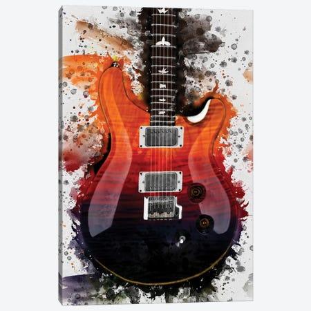Al Di Meola's Electric Guitar Canvas Print #PCP69} by Pop Cult Posters Art Print