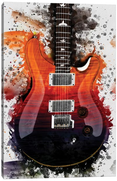 Al Di Meola's Electric Guitar Canvas Art Print