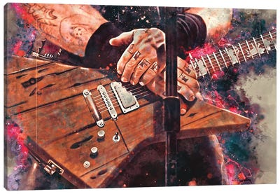 Life, Riff N Hetfield Canvas Art Print