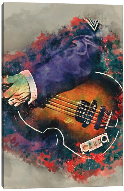 Paul Mccartney's Bass Canvas Art Print