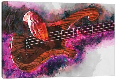 Les Claypool'S Bass Guitar Canvas Art Print
