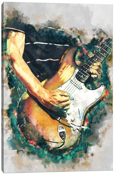 Frusciante's Electric Guitar Canvas Art Print
