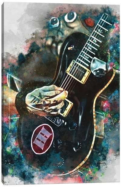 Mark Tremonti's Electric Guitar II Canvas Art Print