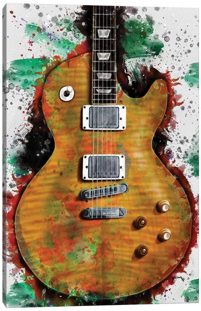 Gary Moore's electric guitar Canvas Art Print