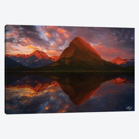 Sunrise Reflections Canvas Print #PCS105} by Peter Coskun Canvas Print