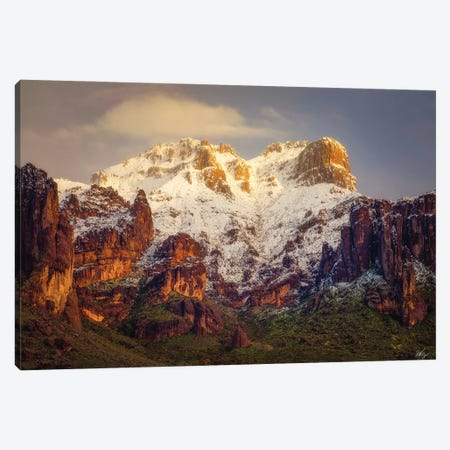 Superstition Snow Cone Canvas Print #PCS108} by Peter Coskun Canvas Wall Art
