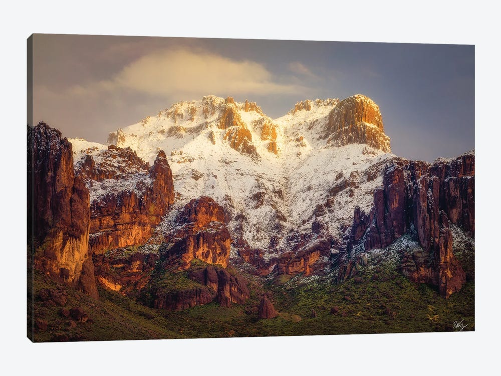 Superstition Snow Cone by Peter Coskun 1-piece Canvas Artwork