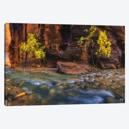 Canyon Smile Canvas Print #PCS22} by Peter Coskun Canvas Wall Art