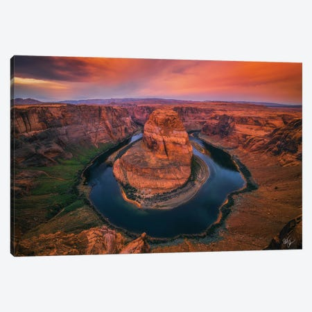 Morning Warning Canvas Print #PCS74} by Peter Coskun Canvas Artwork