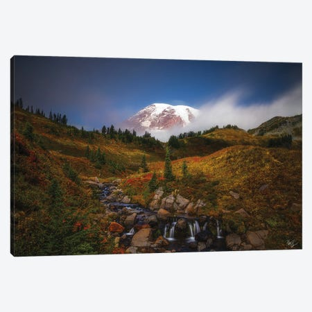 Passing Time Canvas Print #PCS81} by Peter Coskun Canvas Art