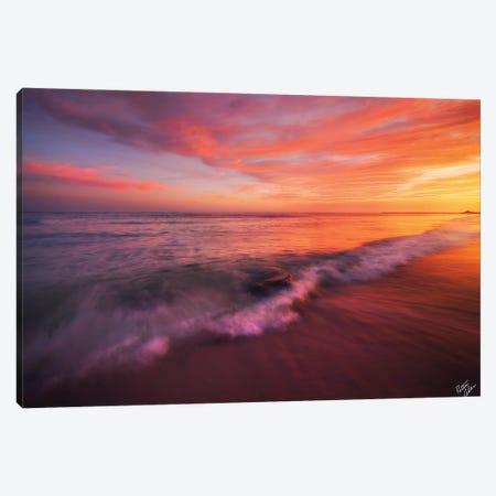 Playa De Fuego Canvas Print #PCS86} by Peter Coskun Art Print