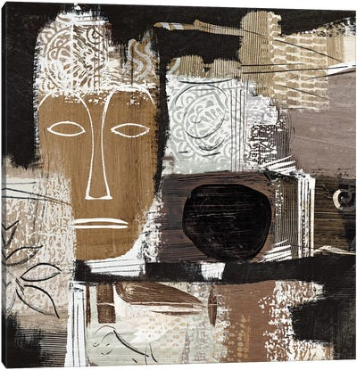 Ethno II Canvas Art Print