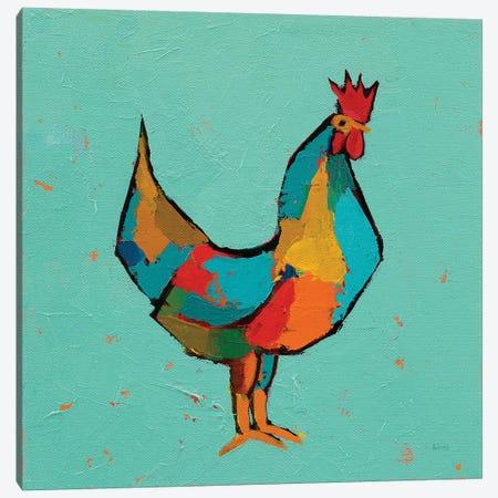 The Strutter Canvas Print #PDA2} by Phyllis Adams Art Print