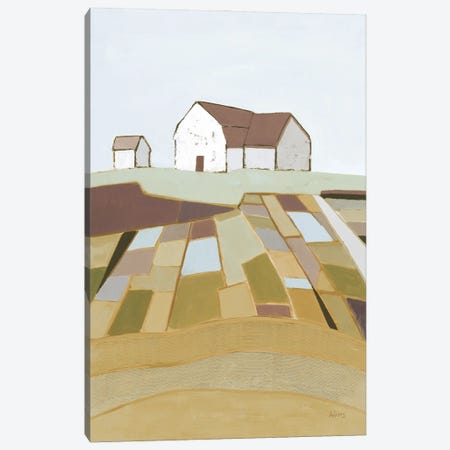Field of Dreams Neutral Canvas Print #PDA9} by Phyllis Adams Canvas Art Print