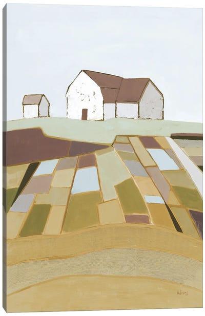 Field of Dreams Neutral Canvas Art Print