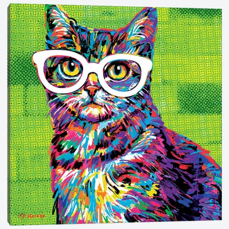 Sir Fredrick Canvas Print #PDM10} by P.D. Moreno Canvas Artwork