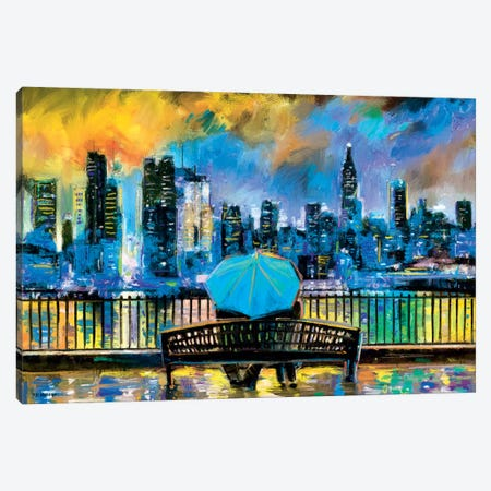 NY In Love In Color Canvas Print #PDM120} by P.D. Moreno Canvas Art