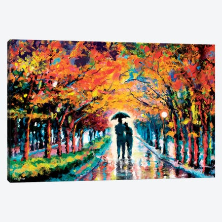 Park In Love Canvas Print #PDM124} by P.D. Moreno Canvas Art Print
