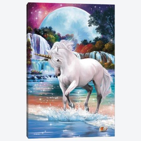 Unicorn Canvas Print #PDM128} by P.D. Moreno Canvas Artwork