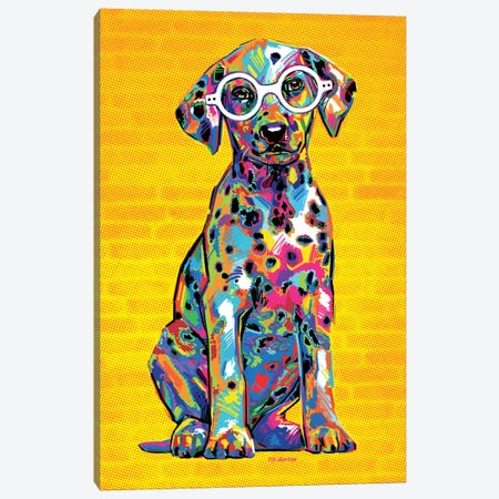 Percy Canvas Print #PDM24} by P.D. Moreno Canvas Artwork