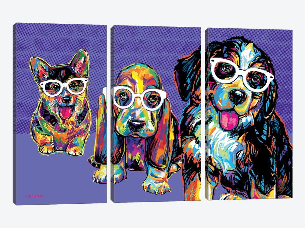 Rat Pack by P.D. Moreno 3-piece Canvas Print