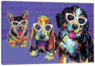 Rat Pack Canvas Art Print