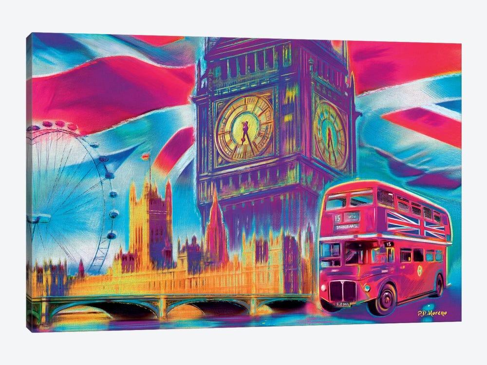 London Pop Colors by P.D. Moreno 1-piece Canvas Artwork