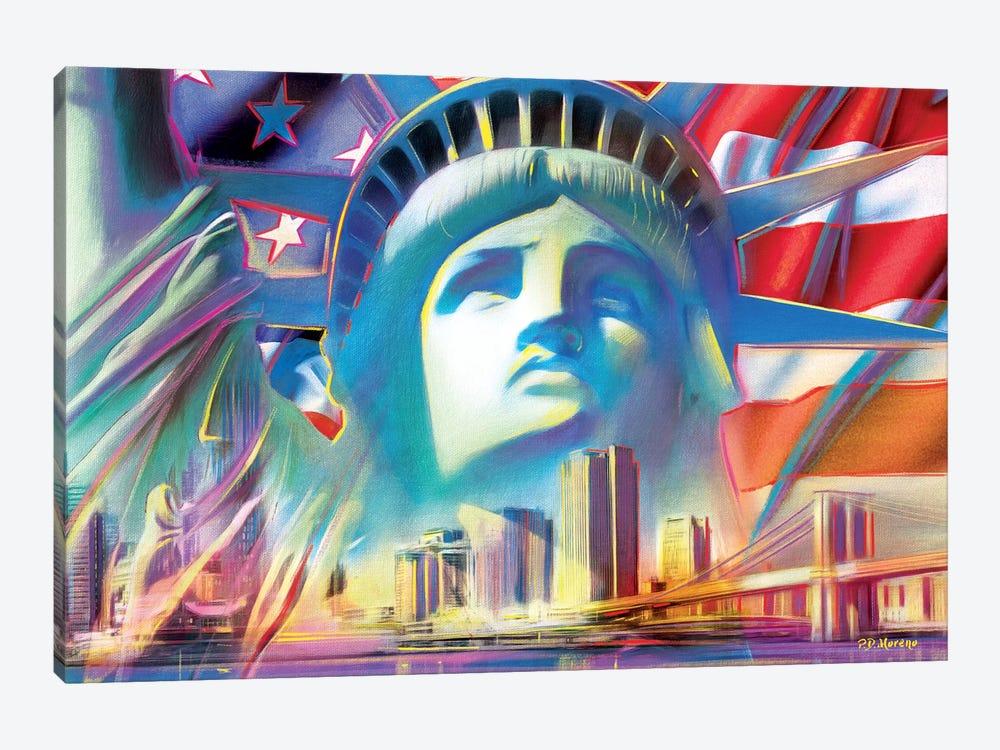 NY Pop Colors by P.D. Moreno 1-piece Canvas Print