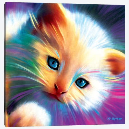 Marshmellow Canvas Print #PDM46} by P.D. Moreno Canvas Art