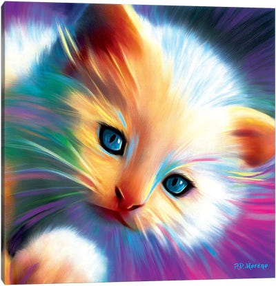 Marshmellow Canvas Art Print