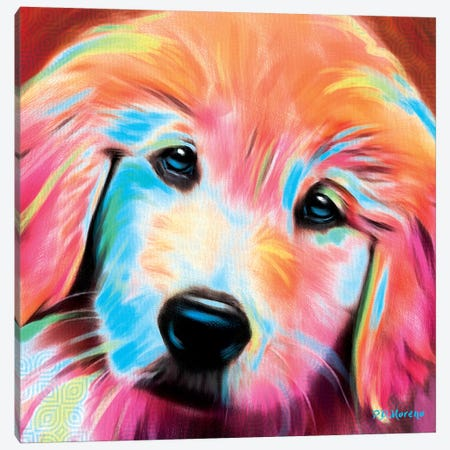 Sandy Canvas Print #PDM48} by P.D. Moreno Canvas Art Print