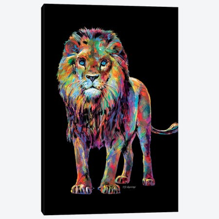Lion Canvas Print #PDM64} by P.D. Moreno Canvas Artwork