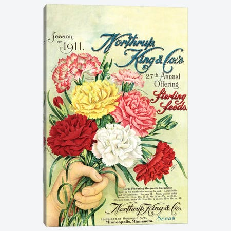Sterling Seeds, 1911, from the Andersen Horticultural Library Canvas Print #PDX120} by Piddix Art Print