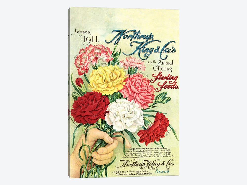 Sterling Seeds, 1911, from the Andersen Horticultural Library by Piddix 1-piece Art Print