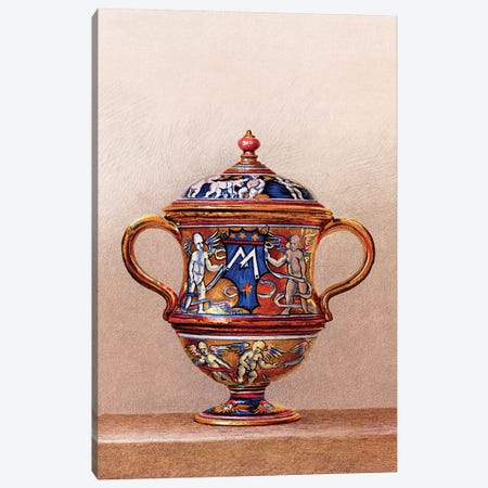 Vase by Maestro Giorgio, About 1515 Canvas Print #PDX135} by Piddix Canvas Art Print