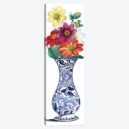 Floral Vase I Canvas Print #PDX151} by Piddix Canvas Artwork