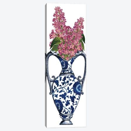 Floral Vase II Canvas Print #PDX152} by Piddix Canvas Artwork