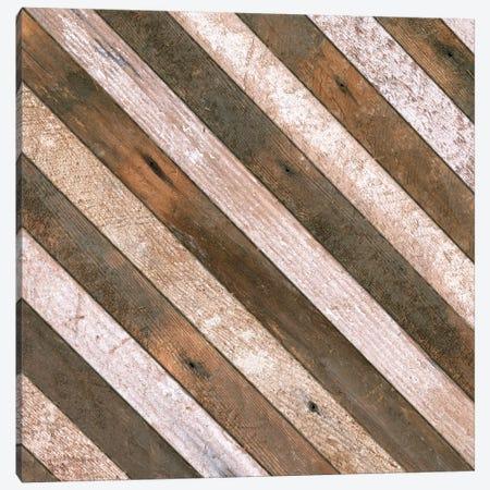 Antique Wood Stripes, 1908 Canvas Print #PDX21} by Piddix Canvas Wall Art