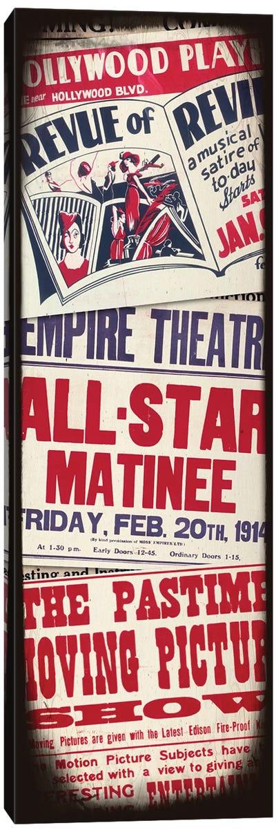 All-Star Matinee Canvas Art Print