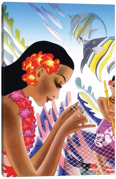 Hawaii c1940s Canvas Art Print
