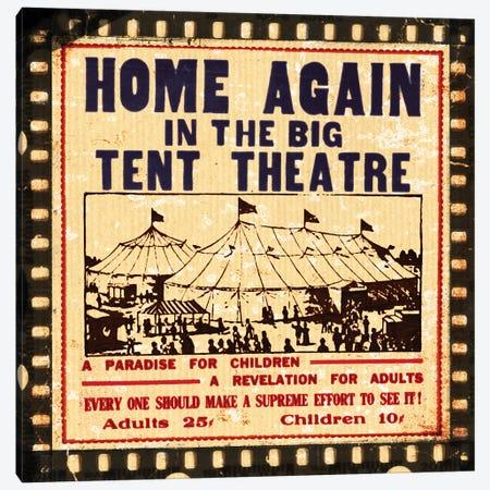 Home Again Movie Night Canvas Print #PDX75} by Piddix Canvas Art
