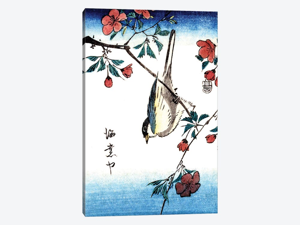 Japanese Bird 1800s by Piddix 1-piece Canvas Wall Art