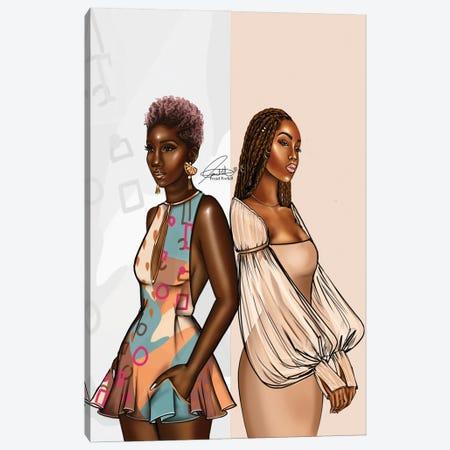 Two-Tone Canvas Print #PEA11} by Peniel Enchill Art Print