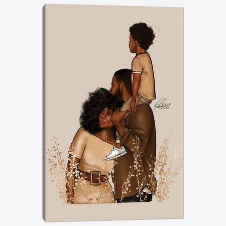 The Browns Canvas Print #PEA20} by Peniel Enchill Canvas Wall Art