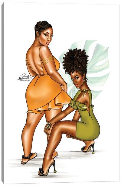 Hot Girl Summer Canvas Art Print