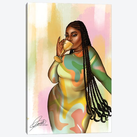 Marble Me Canvas Print #PEA26} by Peniel Enchill Canvas Print