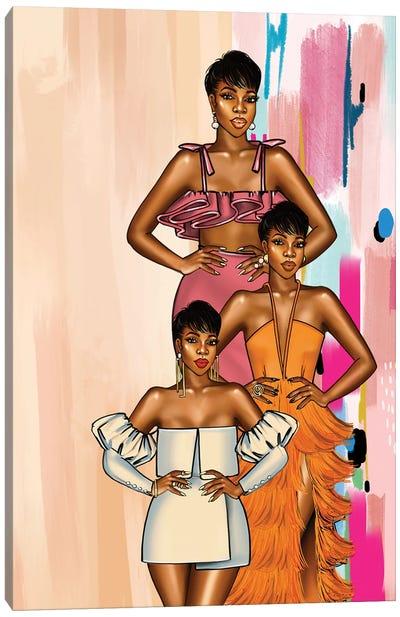 Ohemaa Fiesta Canvas Art Print